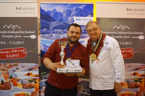 Dragan Šljivić in Iztok Legat